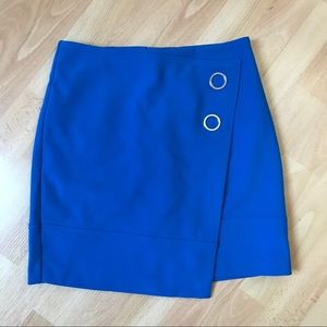 H&M Royal Blue Skirt with Silver Accents
